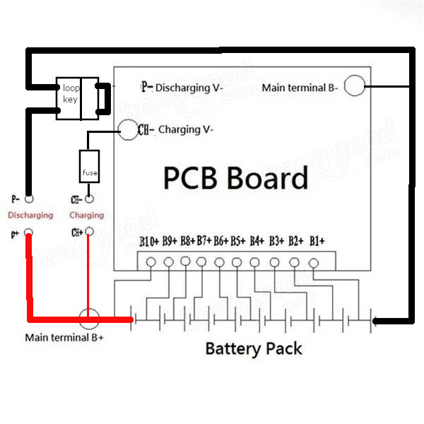Charge Only BMS wiring advice - Esk8 Mechanics - esk8.news forumsesk8.news forums